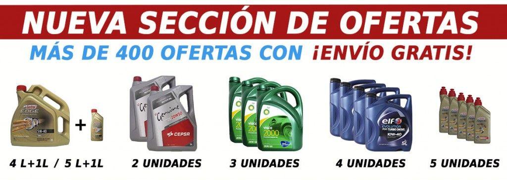Ofertas aceite de coche y moto